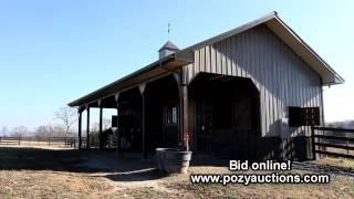 Premier Equestrian Farm Up For Auction!