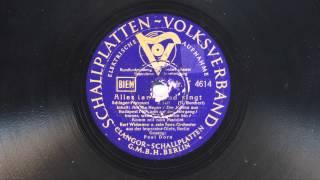 Kurt Widmann: Alles tanzt und singt (Paul Dorn, 1938)