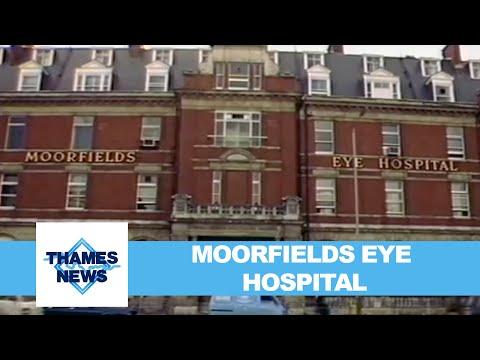Moorfields Eye Hospital   Thames News