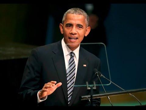 Le dernier discours de Barack Obama devant l'Assemblée générale de l'ONU