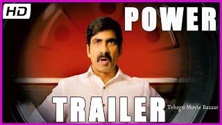 Power (Unlimited) -  Movie Trailer - Raviteja , Hansika, Regina Cassandra