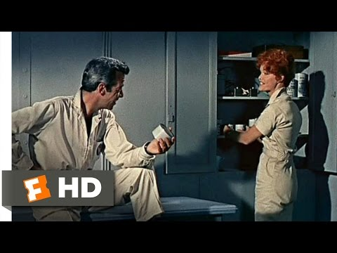 The Angry Red Planet (3/10) Movie CLIP - Flirting All the Way to Mars (1959) HD