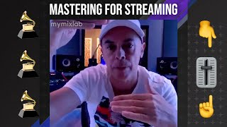 Mastering For Streaming with Luca Pretolesi
