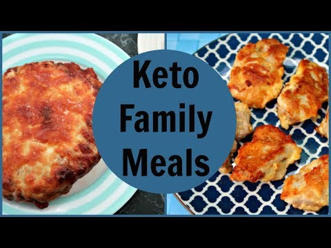 Keto Family Meals | Easy Low Carb Dinner Ideas