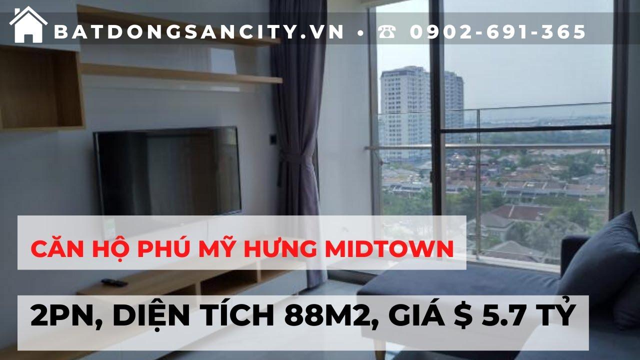 Bán căn hộ Phú Mỹ Hưng Midtown 2PN, diện tích 88m2, giá $ 5.7 tỷ | Hotline 0902691365
