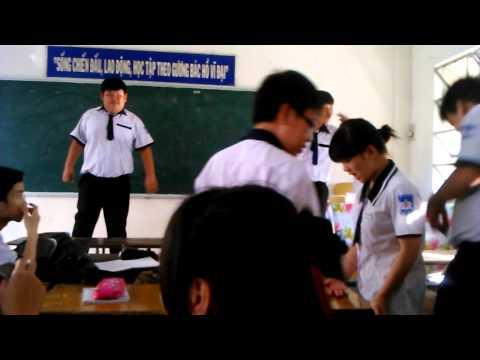 Tự quản. 10B10 THPT Phan Ngọc Hiển, Cần Thơ 2014