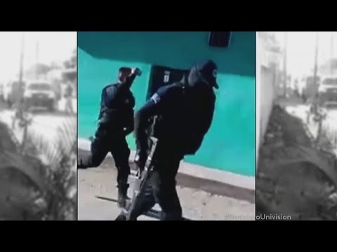 Policias sospechosos ligados a un homicidio