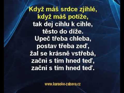 Dělání, dělání - Zdeněk Svěrák, Jaroslav Uhlíř Karaoke tip