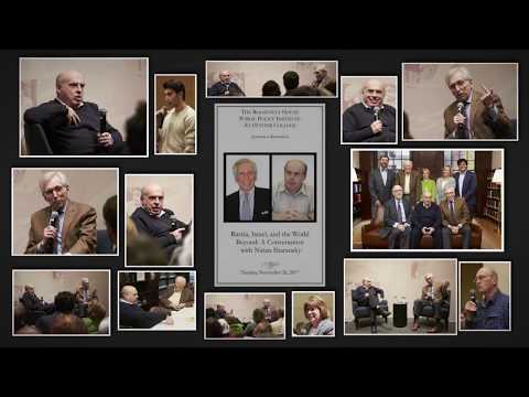 Russia, Israel, and the World Beyond: A Conversation with Natan Sharansky