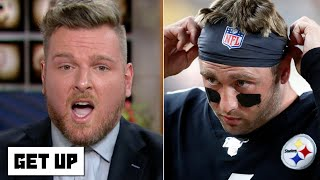 'Quack, quack, quack!' - Pat McAfee wants Devlin 'Duck' Hodges to start for the Steelers | Get Up