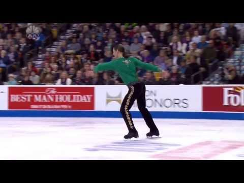 Jason Brown 2014 US Figure Skating Championships