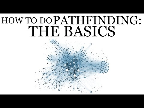 How to Do PATHFINDING: The Basics (Graphs, BFS, and DFS in Unity)