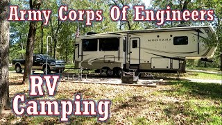 Our First Army Corps of Engineers RV Park (Lake Wappapello, Missouri) Full Time RV Living