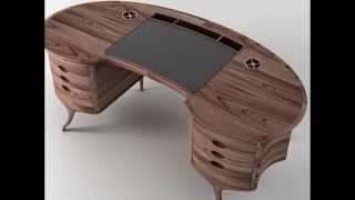 Wood Writing Desk By Tyrifryd.com