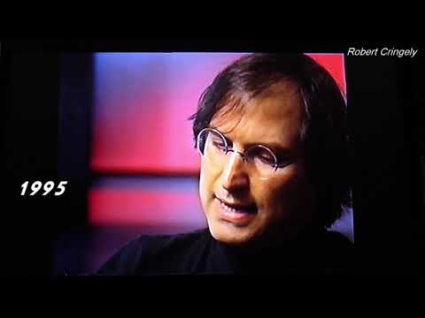 Steve Jobs 1995 clip - internet & e-commerce, human condition, mobility, innovate
