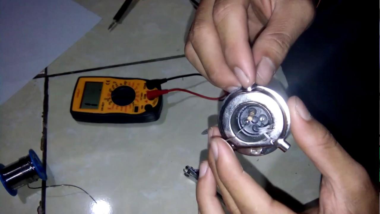 Cara Memperbaiki Lampu Led Plasma Motor Vixion Youtube