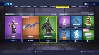 BOUTIQUE FORTNITE DU 12 AVRIL 2019 - FORTNITE ITEM SHOP APRIL 12 2019 NEW SKIN !!