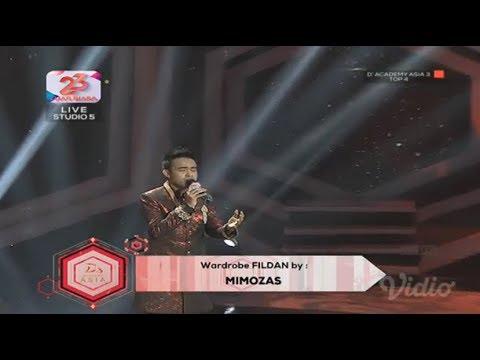 Fildan Indonesia - Cinta Hitam Top 4 D'academy Asia 3 (24/12/2017)