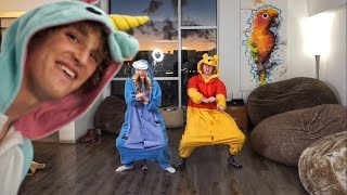 ULTIMATE ONESIE DANCE BATTLE AGAINST LOGAN PAUL!!!
