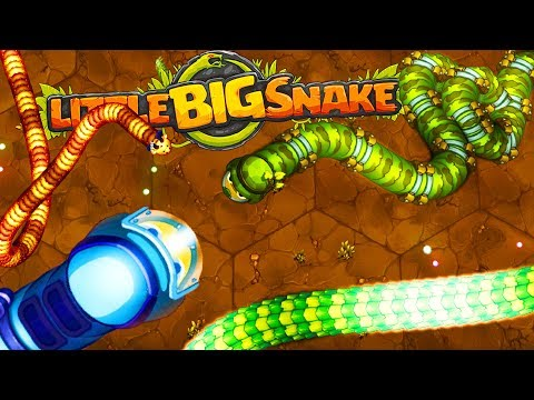Slithering To Victory! - A Huge Snake Warzone - Little Big Snake Gameplay