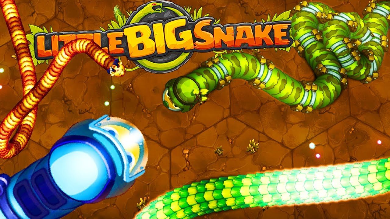 игры little big snake