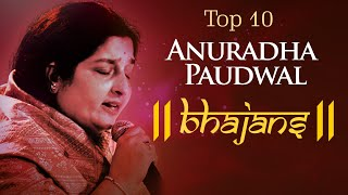 Top 10 Anuradha Paudwal Bhajans | Devi Songs in Hindi | Om Jai Ambe Gauri, Jai Maa Ambe...