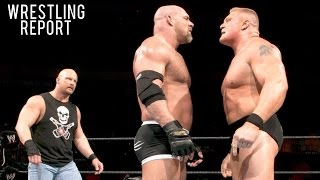Goldberg vs Brock Lesnar at SURVIVOR SERIES? Dolph Ziggler RETIRING? | Wrestling Report