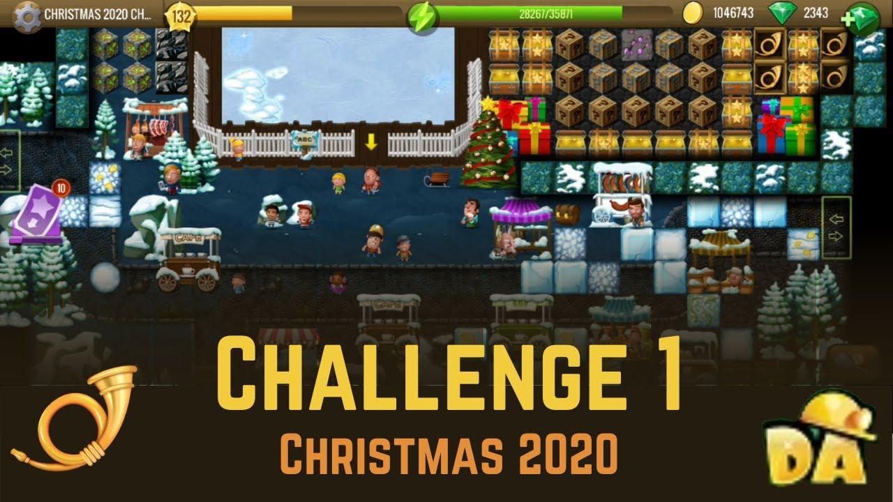 Challenge 1   Christmas 2020   Diggy's Adventure   YouTube