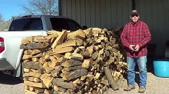 What Is A Cord of Wood - Don't Get Taken By Hard Wood Guys - And A Big Bird Visit