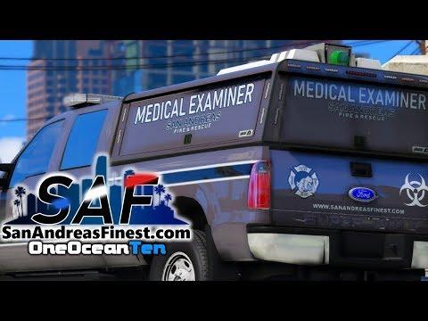 SA'F #208 - New Medical Examiner Division!   GTA V RP
