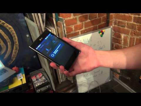Видеообзор LG Optimus Vu. Страсти по Малевичу