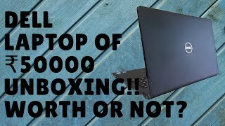 Dell Vostro 15 3568 i5 7th Generation - Unboxing and overview | Karan Soni