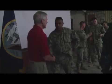 Secretary of the Navy visits CJTF-HOA