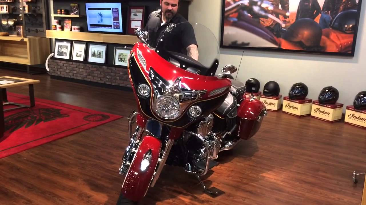 2014 Indian Chieftain With Dealer Installed Custom Paint