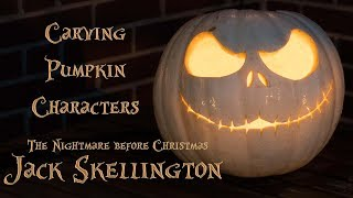 Jack Skellington  Halloween Pumpkin