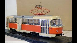 Фото Вагон трамвая Татра Т3. Масштабная модель 143 от SSM