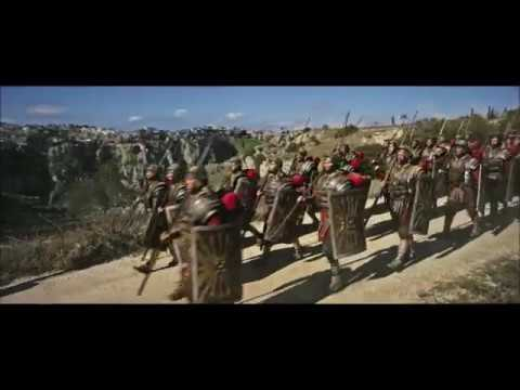 Ben Hur (2016) Roman march into Jerusalem