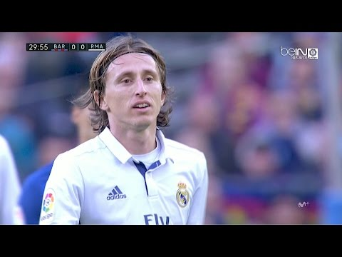 Luka Modric vs Barcelona (A) 720p HD 03/12/16 by RealMadrid.Universe