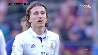 Luka Modric vs Barcelona A 720p HD 031216 by RealMadridUniverse