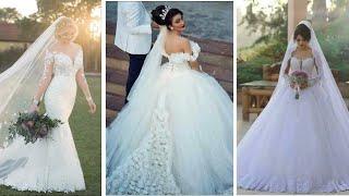 فساتين عروس 2019 😍 حسب طلب متتابعاتي الله يهنيهم ❤ عروسة ❤