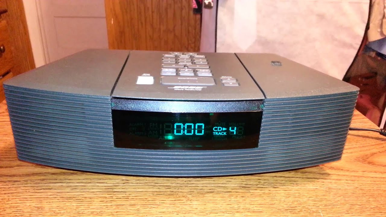 bose wave radio cd awrc 1g youtube. Black Bedroom Furniture Sets. Home Design Ideas