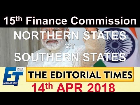 Northern States VS Southern States | The Hindu | The Editorial Times | 14th April 2018 | SSC  | BANK