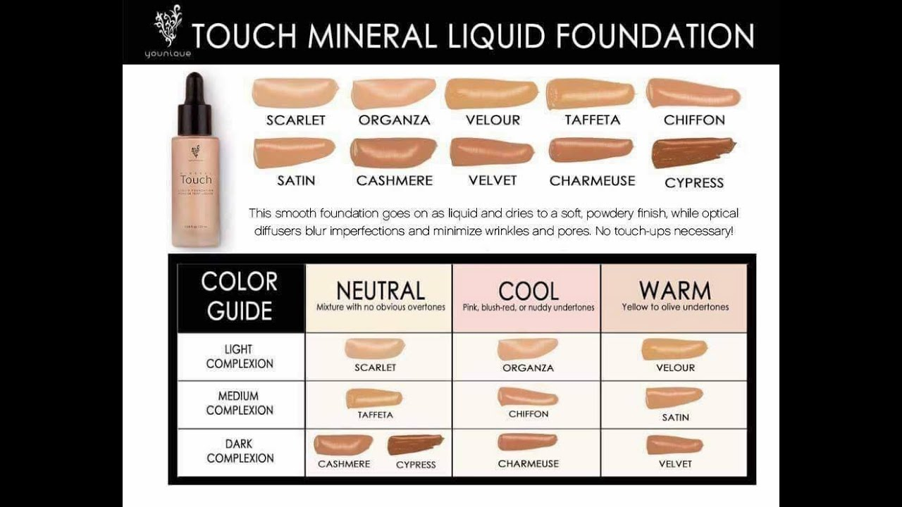 How To Color Match Youniques Liquid Foundation Based On Undertones