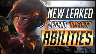 Apex Legends Rosie - *NEW* Legend AND All LEAKED Abilities!