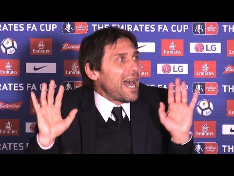 Chelsea 1-1 Norwich (Chelsea Win On Pens) - Antonio Conte Post Match Press Conference -FA Cup Replay