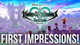 Kingdom Hearts Unchained X First Impressions - IPhone 6 Gameplay