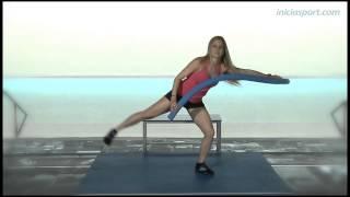 Aqua Fitness 10. Ejercicios con churro