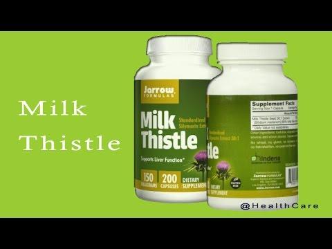 #1 best milk thistle supplement Standardized Silymarin Extract Jarrow Formulas