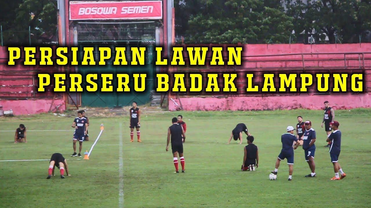 BEGINI SESI LATIHAN PSM MAKASSAR JELANG HADAPI PERSERU ...Badak Lampung Futbol24
