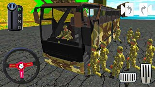 Army Bus Driver US Soldier Transport Duty - Real Military Coach Simulator#7 - Android GamePlay screenshot 1